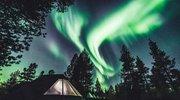 芬兰天空出现绝美北极光