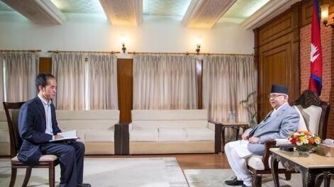 专访:习近平主席访问将把尼中关系提升到新高度——访尼泊尔总理奥利