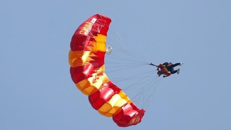 【跳伞】军运会跳伞项目开赛