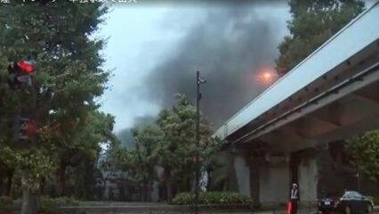 日本天皇即位典礼在即,皇居附近突然冒黑烟