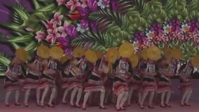 优美动人 广宁街道艺枫舞蹈队舞出曼妙的《俏花腰》