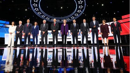 特朗普发推骂民主党候选人:小丑 不可能成为总统