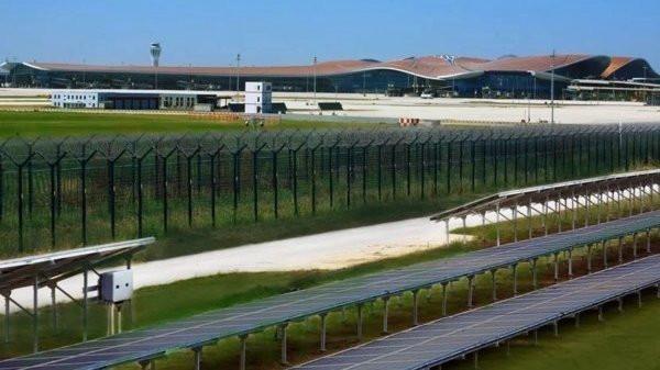 全球最大空港 -- 北京大兴机场采用华为智能光伏正式投运