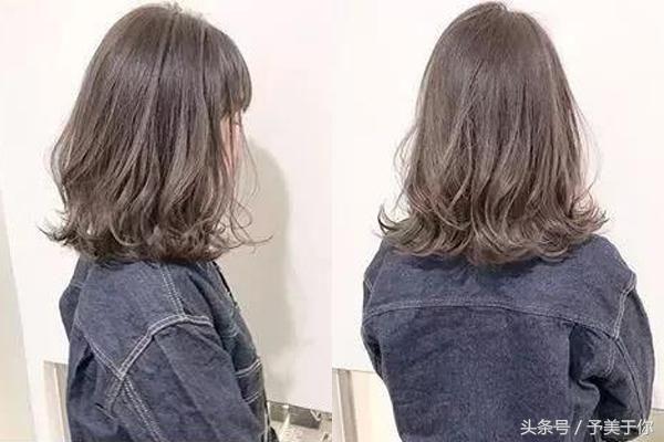 比锁骨发短的是什么发型图片