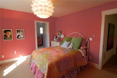 宝鸡装饰:少女卧室装修效果图 女孩子房间怎么看风水