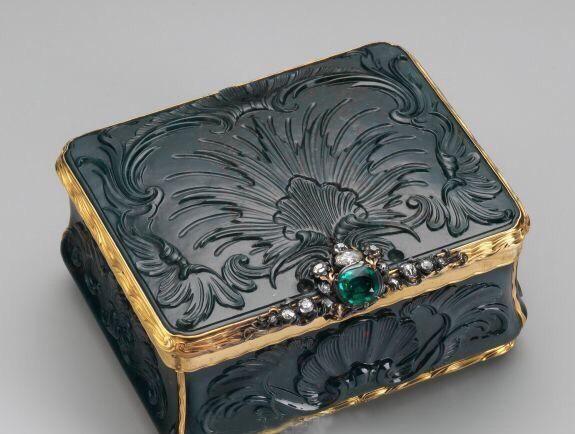 香闺里的梦:古代西方女子的妆匣首饰盒