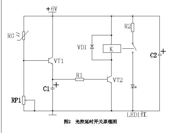 图一 二极管续流保护作用电路图