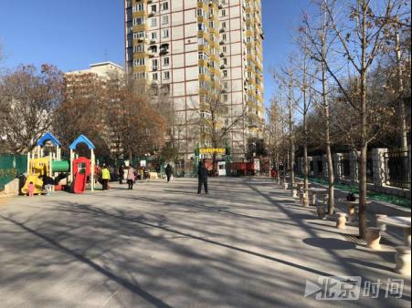 紫竹院街道:2900户居民共享3100平米休闲广场