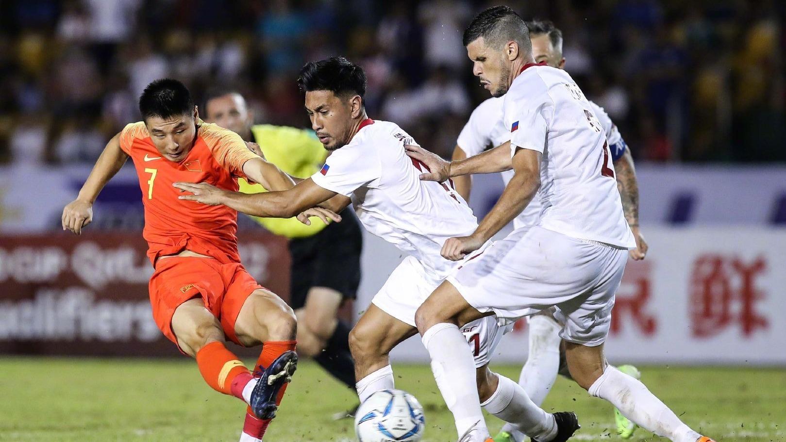 世界杯亚洲区预选赛 国足0比0战平菲律宾