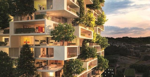 在垂直森林中小户型公寓售价达2千万,这样的价格,大家能够接受吗?