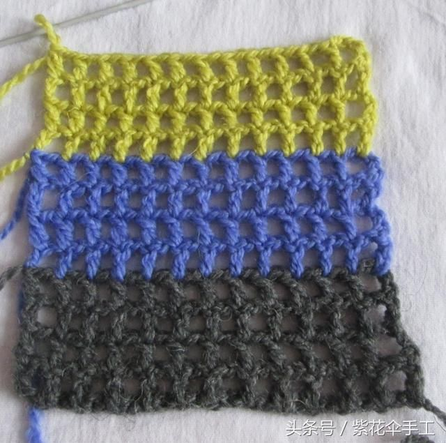 手工编织教程:简单钩织方法不仅可以钩出杯垫 还可以钩成毯子
