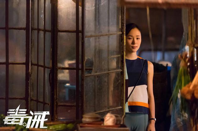 江一燕成《毒.诫》中一抹亮色 外柔内刚有古惑女潜质图片