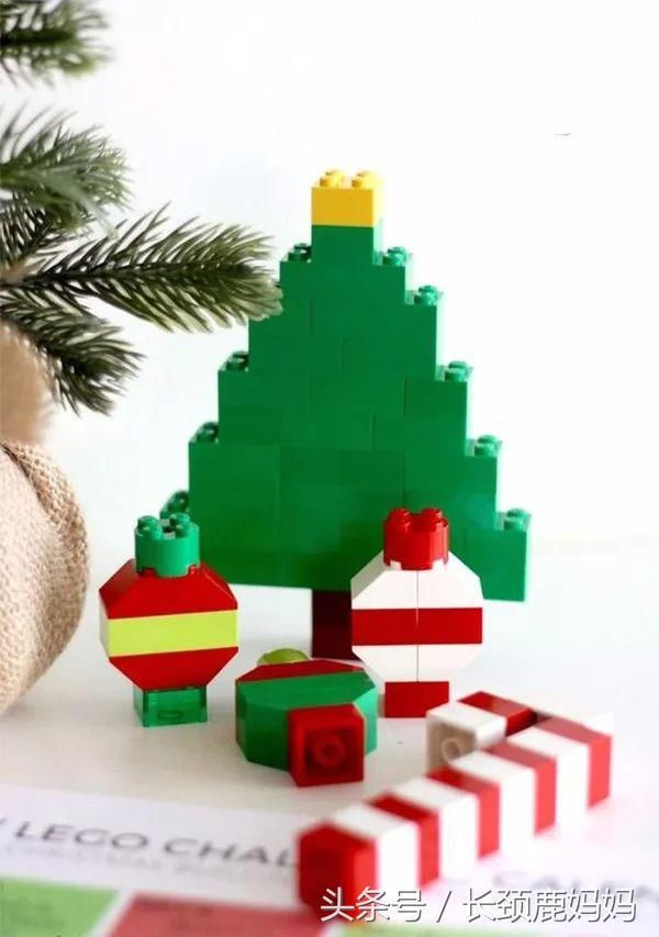 简直是一举两得了:) 详细步骤: 若你家里有个乐高娃, 那么,圣诞树