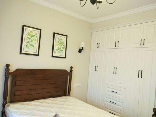 卧室,一面墙的柜子,收纳强大!大同装修公司编写