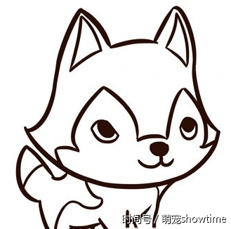 动漫 简笔画 卡通 漫画 手绘 头像 线稿 329_326