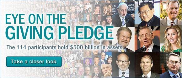 世界首富为澳捐款