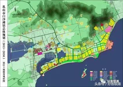 青岛港区位地理图