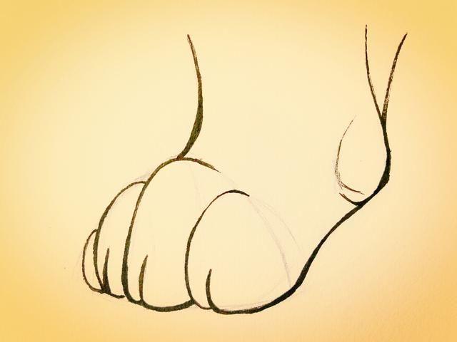 素描手绘-一步步教你画萌萌的猫爪,有干货