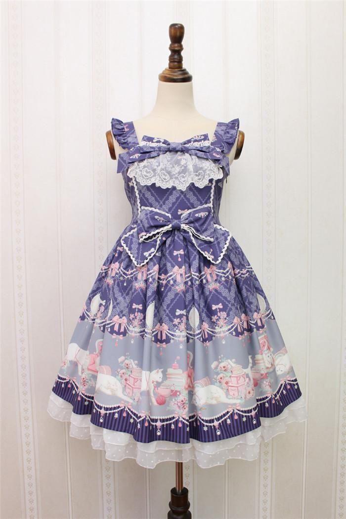 十二星座专属洛丽塔公主裙,娇嫩鲜艳的青春图片