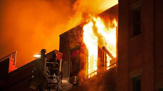 美国华人博物馆遇火灾 近85000件历史藏品恐被毁