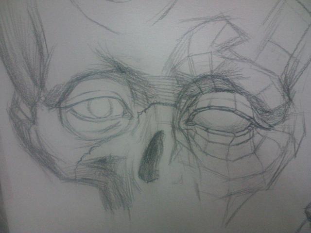 美术生校考:头像素描需要掌握的结构以及眼部结构