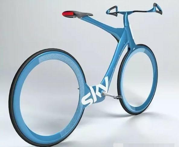 无链条自行车,人体动力和电子动力的完美结合