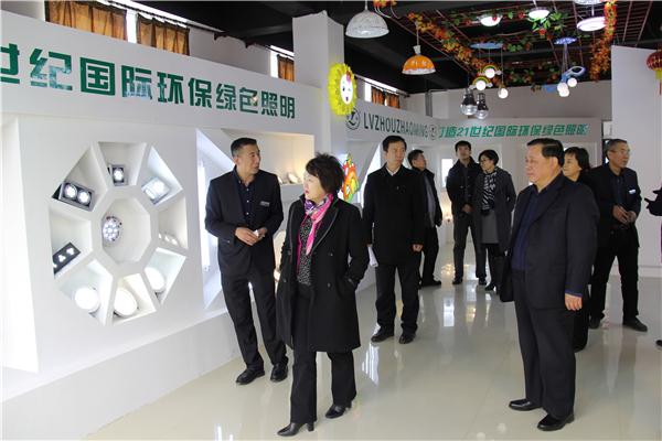 吉林省商务厅厅长丛红霞赴四平调研图片