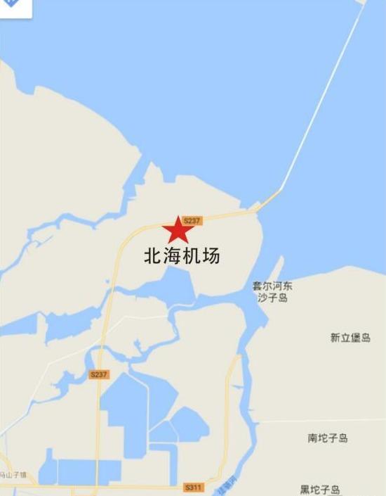 滨州将新建机场 坐落北海新区