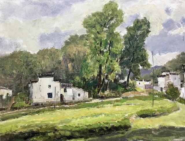 中国当代著名风景油画家~符国平