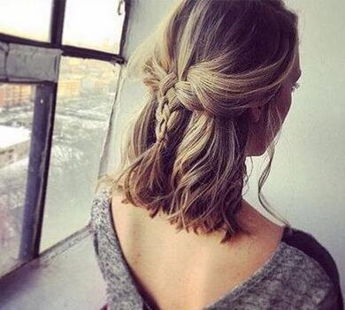 教你自己做小辫子发型扎法图解!