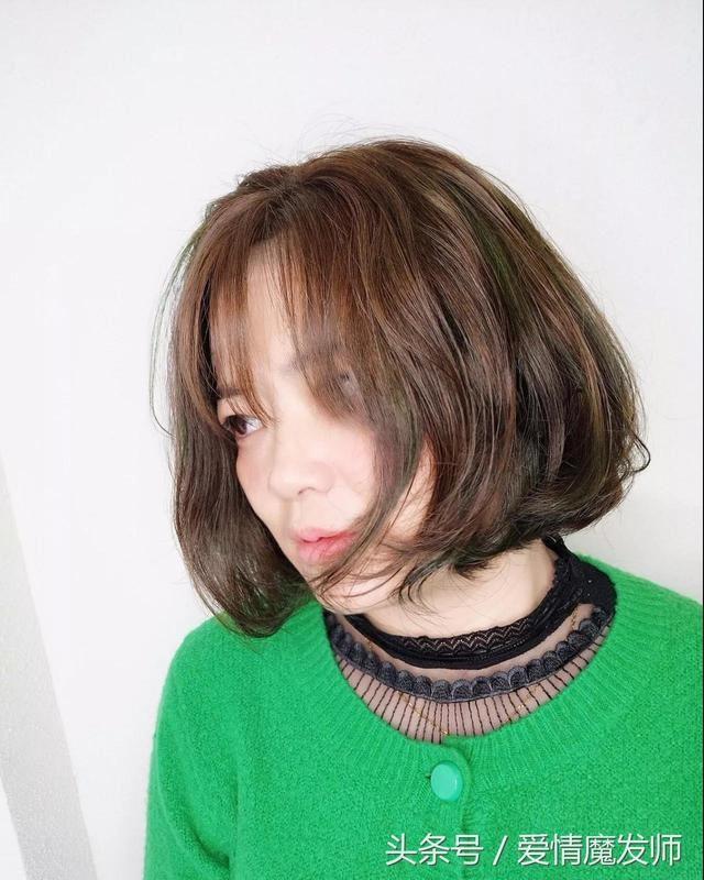 女生剪短发不烫一烫,剪短还有什么意义?图片