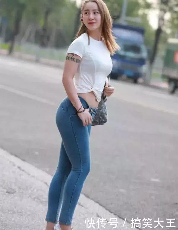 大象裤闺蜜丰腴的身材腿勒痕明显,微胖紧身更何谓搞笑图片a大象的图片