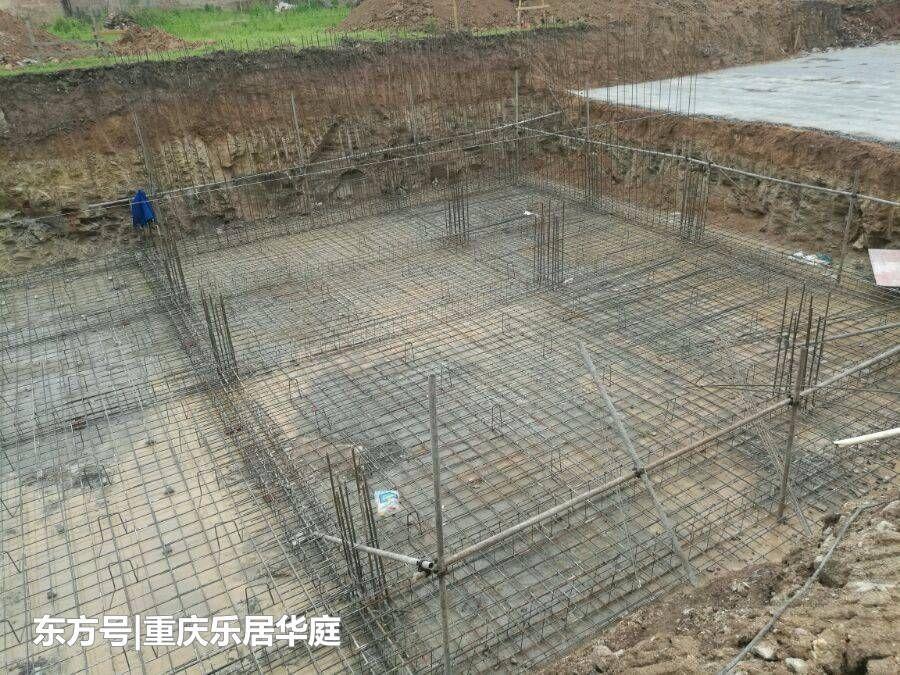 别墅回农村自建土豪,4.5米图片130方混凝土,全庭院地基凉别墅庭图片