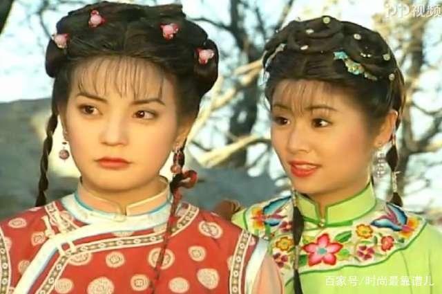 还珠格格中紫薇最经典的空气刘海造型-北京时间图片