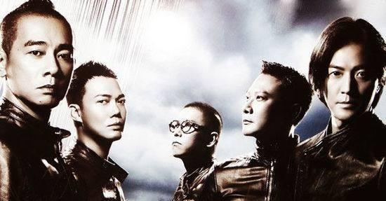 """《古惑仔》,虽然是一群社会不良少年,但是""""洪兴社""""之间浓浓的兄弟情谊"""