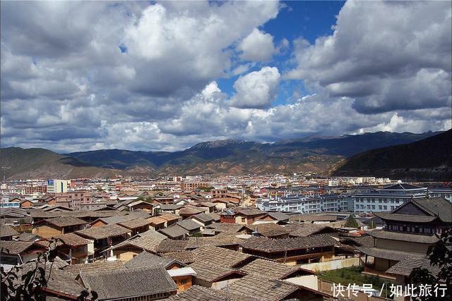 """(3)香格里拉镇 稻城景点排名第2 是""""中国香格里拉生态旅游区""""的核心"""
