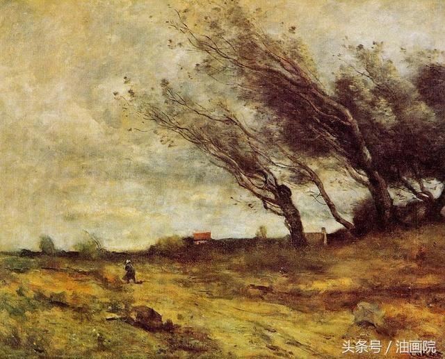 油画风景画如何表现灰色调?