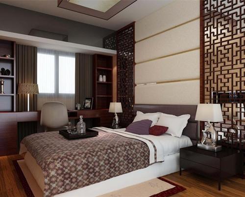 寶雞家裝:中式臥室裝修效果圖 中式臥房設計技巧分享