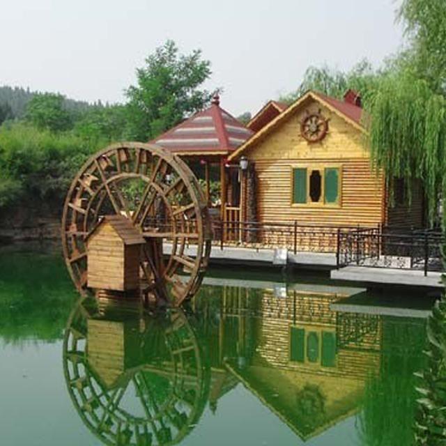 生态园农家乐风景区,极美的木屋别墅民宿客栈,引爆客流量