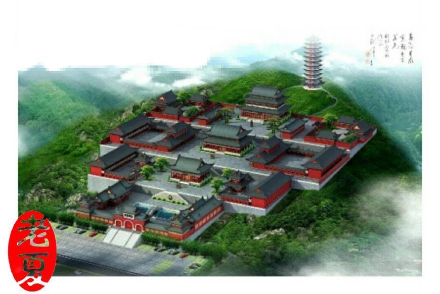 在这里!山东寺庙设计规划,山东寺庙效果图施工