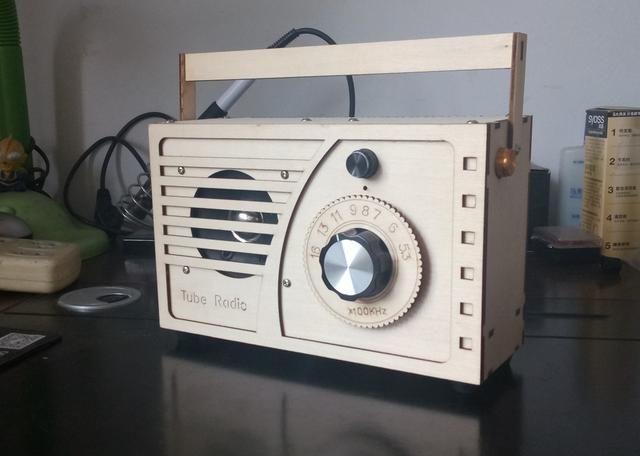 自制直流三灯再生收音机