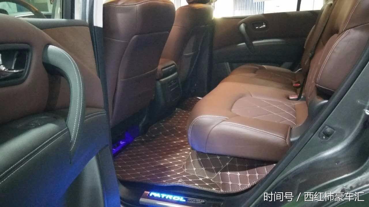 尼桑途乐4000改装升级,内饰精致,座椅厚舒适!
