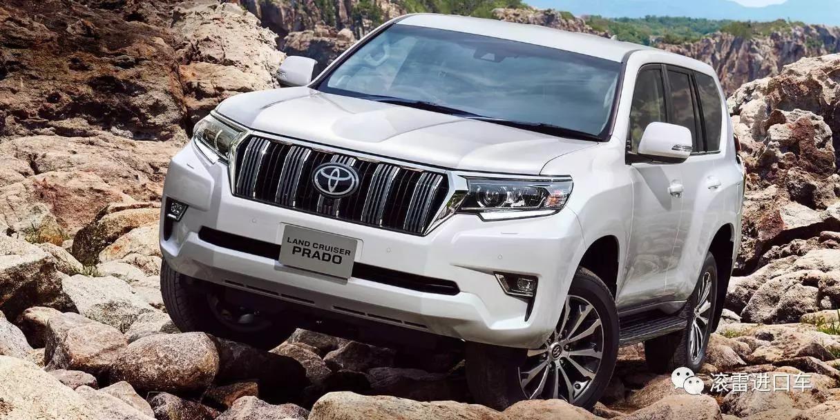 滚雷进口车目前在售的为中东 普拉多2700tx和普拉多4000 exr,具体