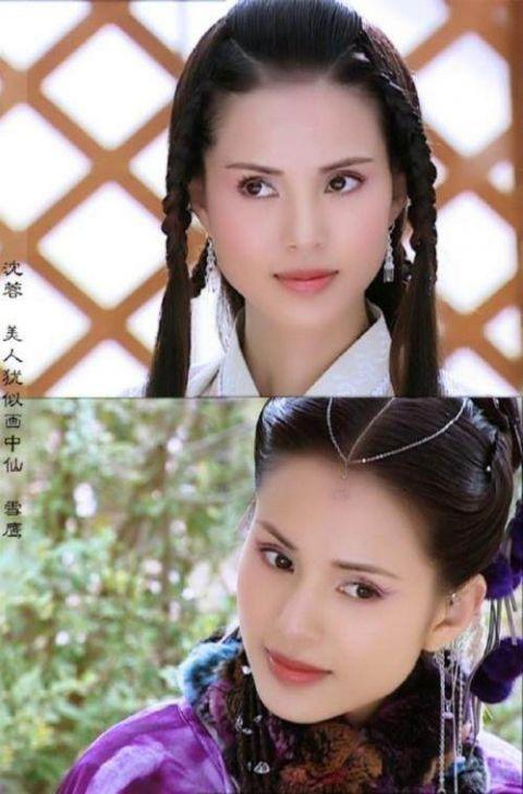 梳着滚辫的7位古装女子 双颖成双绝,刘涛高圆圆美成仙