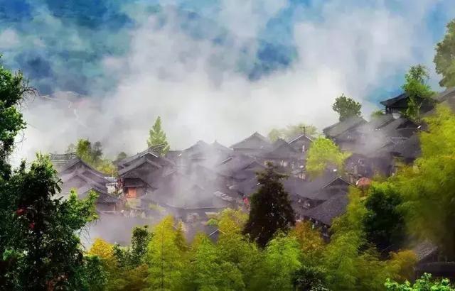 貴州這些風情濃郁的地方,秋冬必!去!