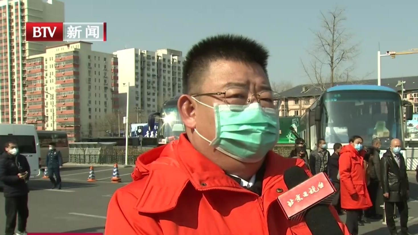 全市重大工程外地务工人员有序返京