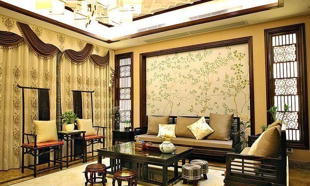 """""""木线条 壁纸""""背景墙,一直是高品质装修项目的代表元素,尤其是在美式"""