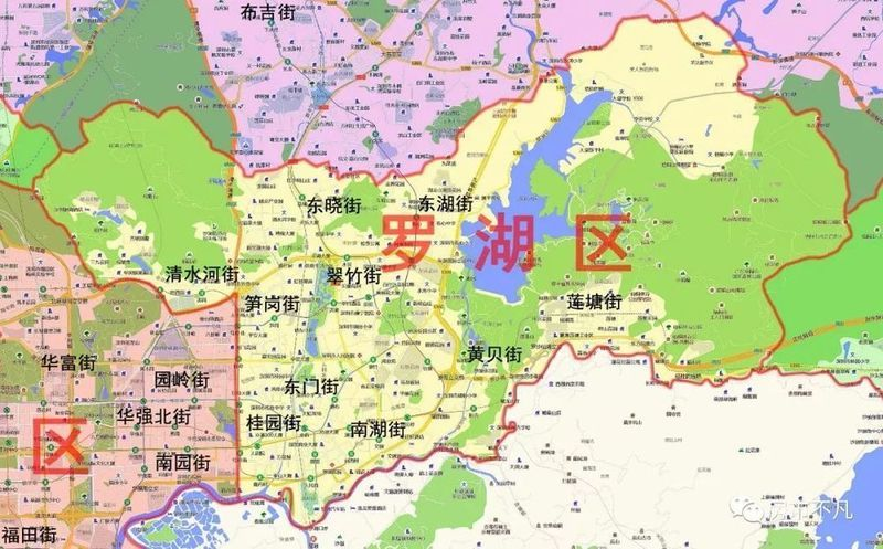 区域概况 罗湖区是深圳最早设立和发展起来的行政区,其土地面积只有