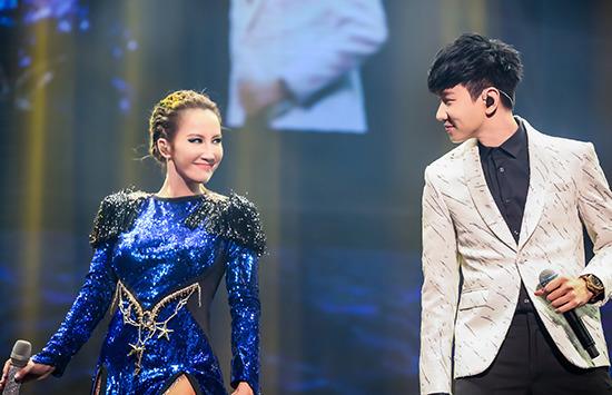 冠军女神coco李玟北京开唱 林俊杰助阵两位神级首次同台图片