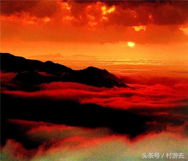 河北千叶山风景图片